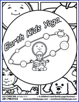 Earth Kids Coloring Book