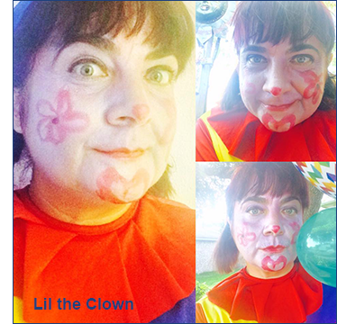Lili the Kids Yoga Clown for Hire Houston, Texas