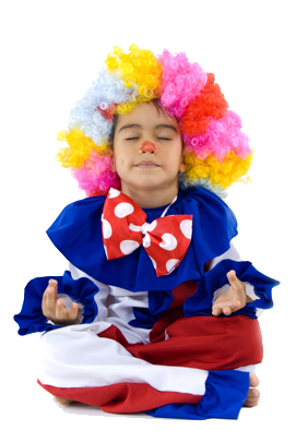 Yoga Clown Parties for Kids